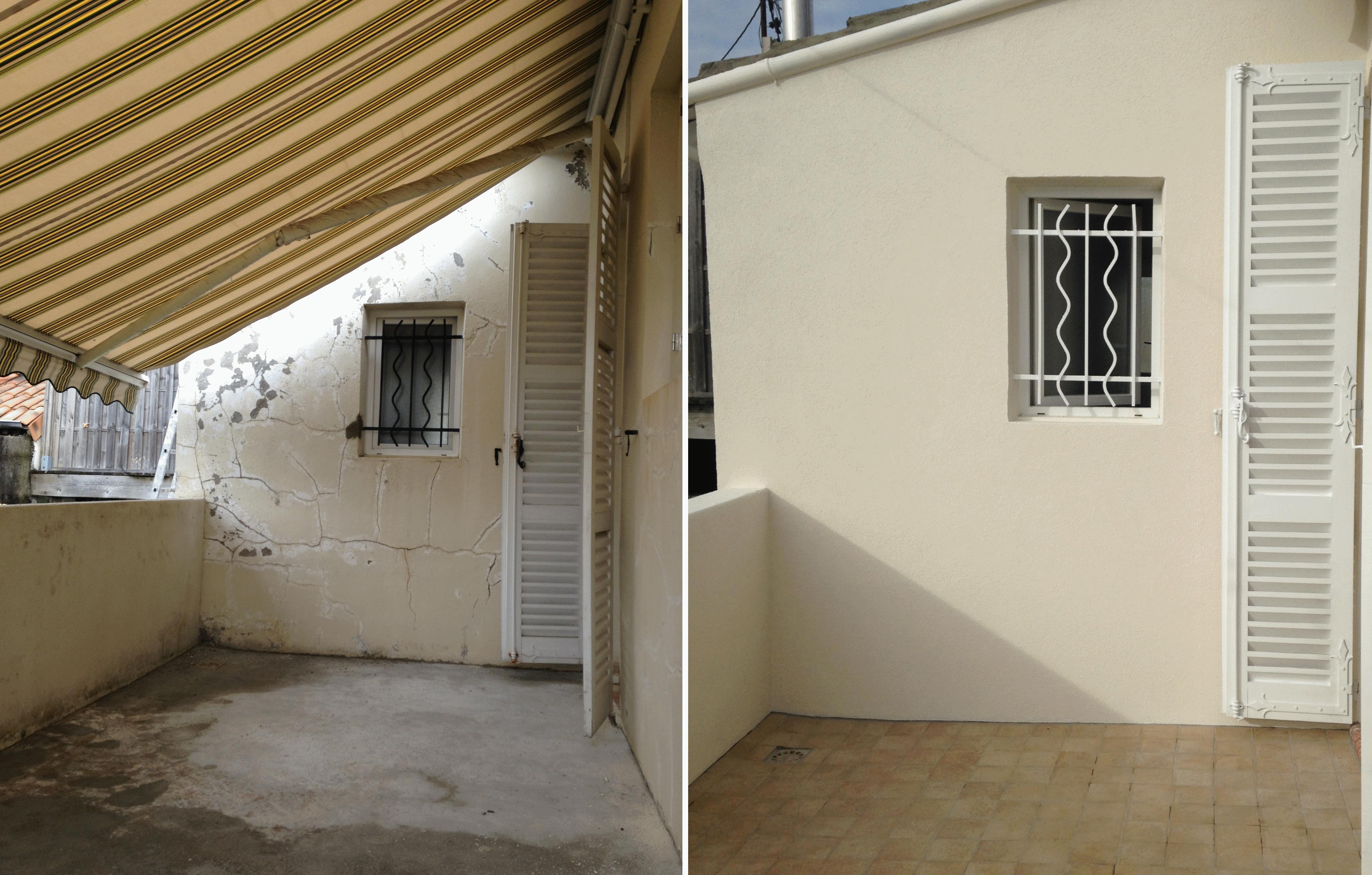 artisan peintre bordeaux r novation exterieur d 39 un mur